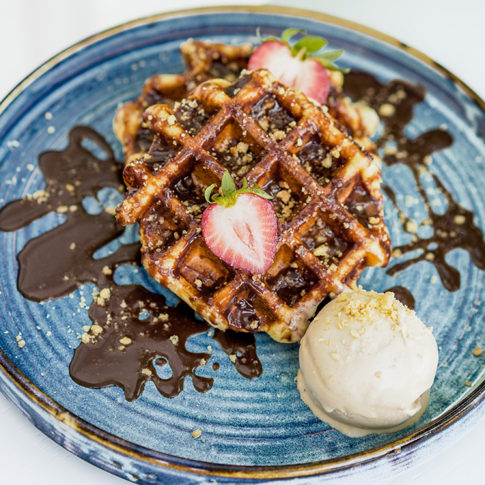 Nutella-Waffle