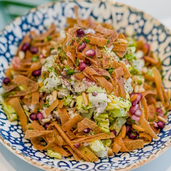 Shawarma-Salad